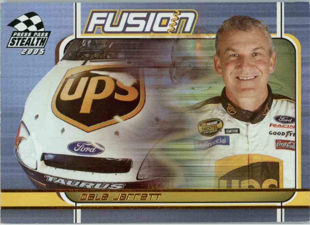 2005 Press Pass Stealth Dale Jarrett #FU9 card front image