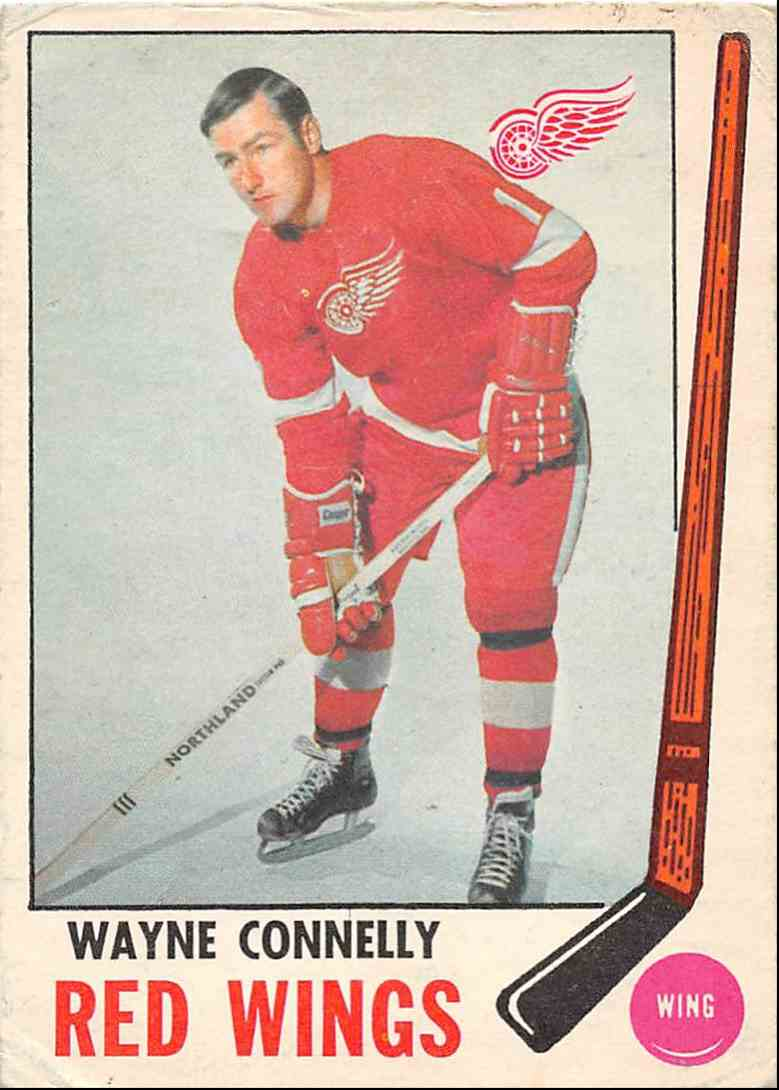 1969-70 O-Pee-Chee Wayne Connelly #60 card front image