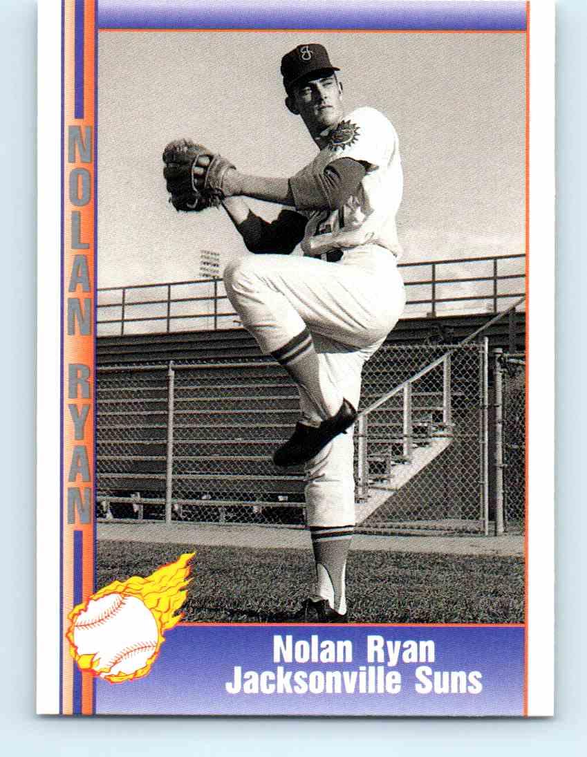 1991 Pacific Nolan Ryan Express Nolan Ryan 116 On Kronozio