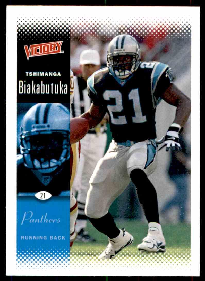 149b0cd38 2000 Upper Deck Victory Tim Biakabutuka  31 card front image
