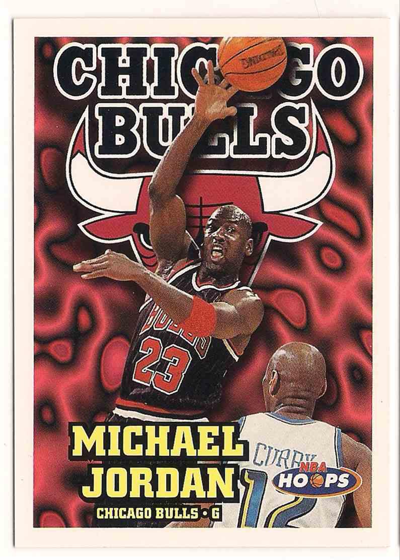1997-98 Skybox NBA Hoops Michael Jordan #220 card front image
