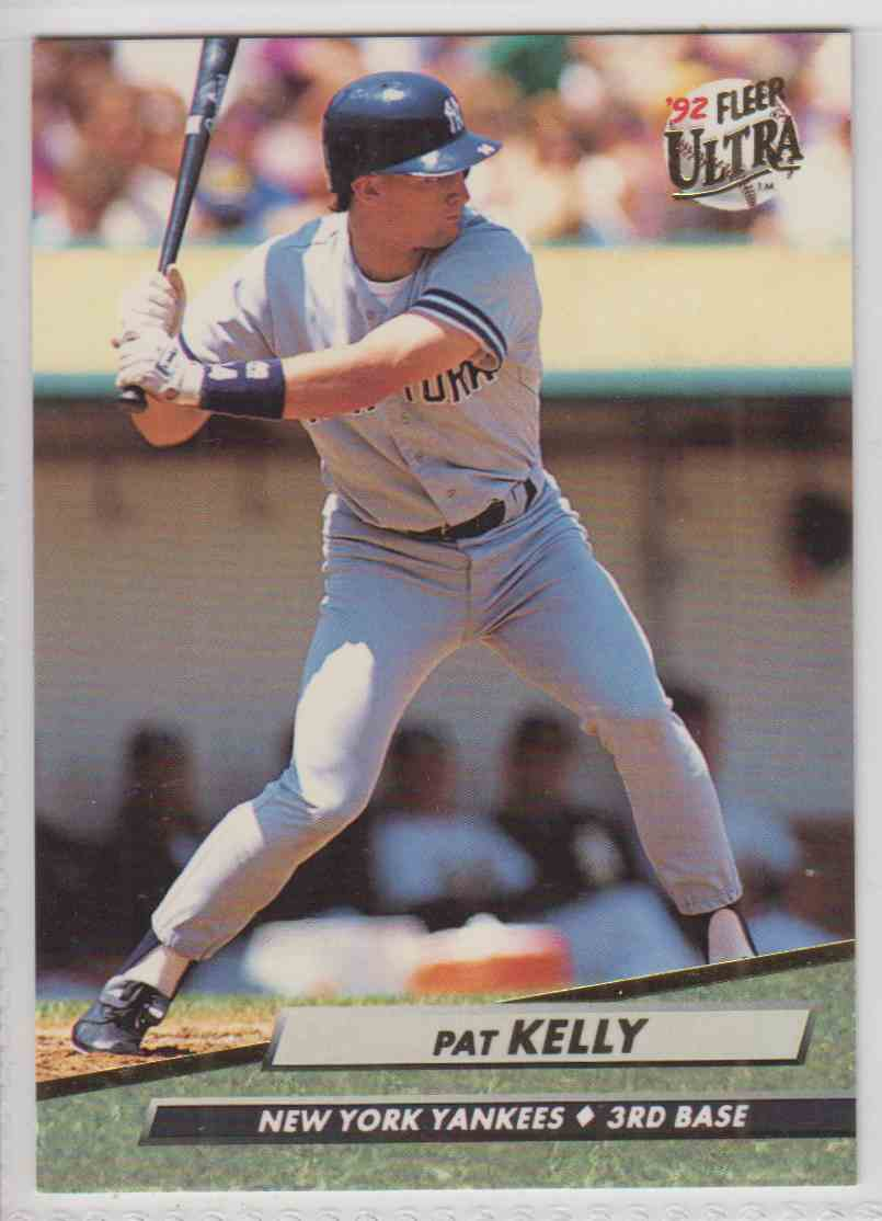 1992 Fleer Ultra Pat Kelly #102 card front image