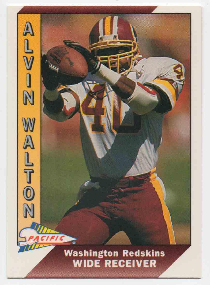 1991 Pacific Alvin Walton #533 card front image