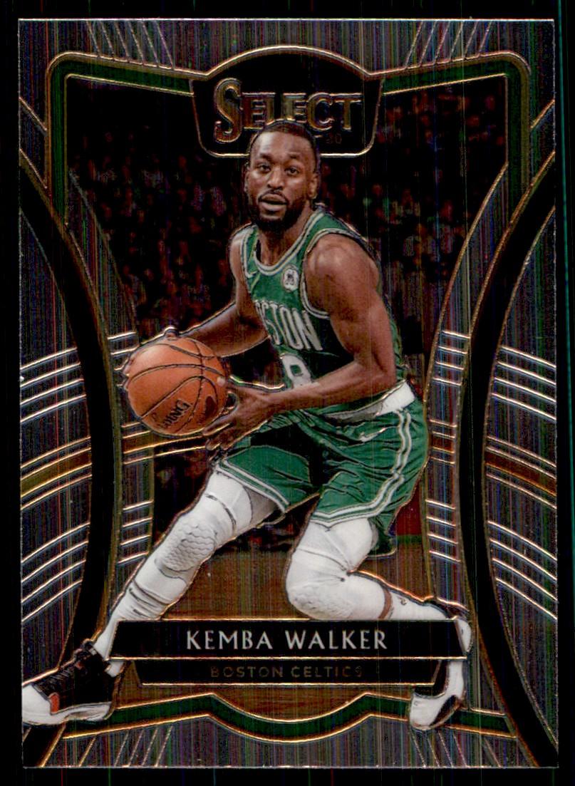 2019-20 Panini Select Kemba Walker #181 card front image