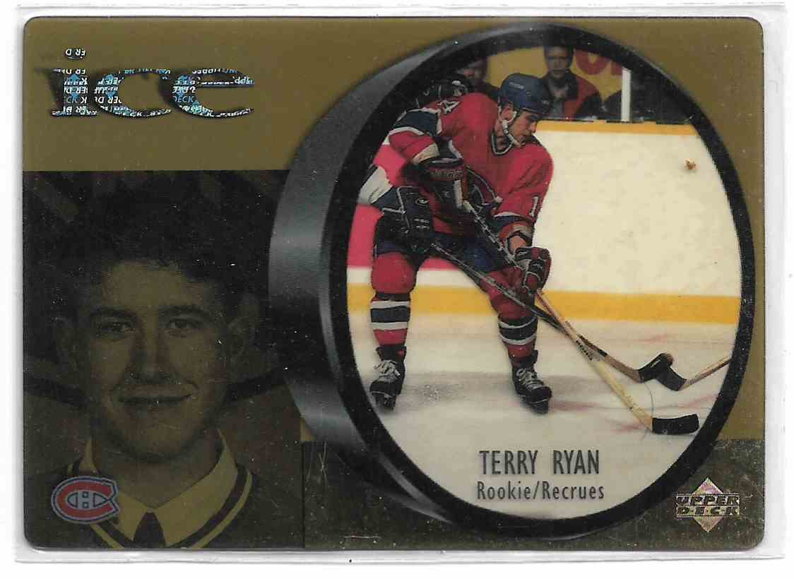 1998-99 Upper Deck McDonalds Ice Terry Ryan #MCD 28 card front image