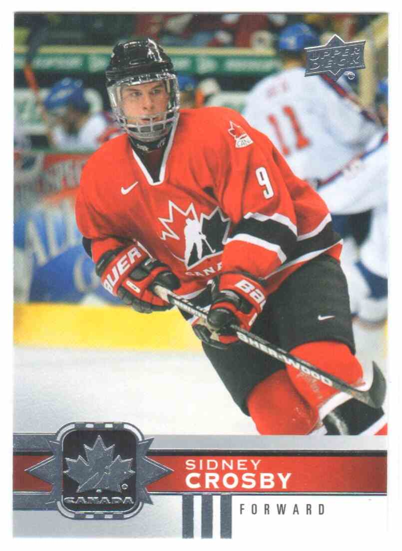 2017-18 Upper Deck Team Canada Canadian Tire Sidney Crosby #101 card front image
