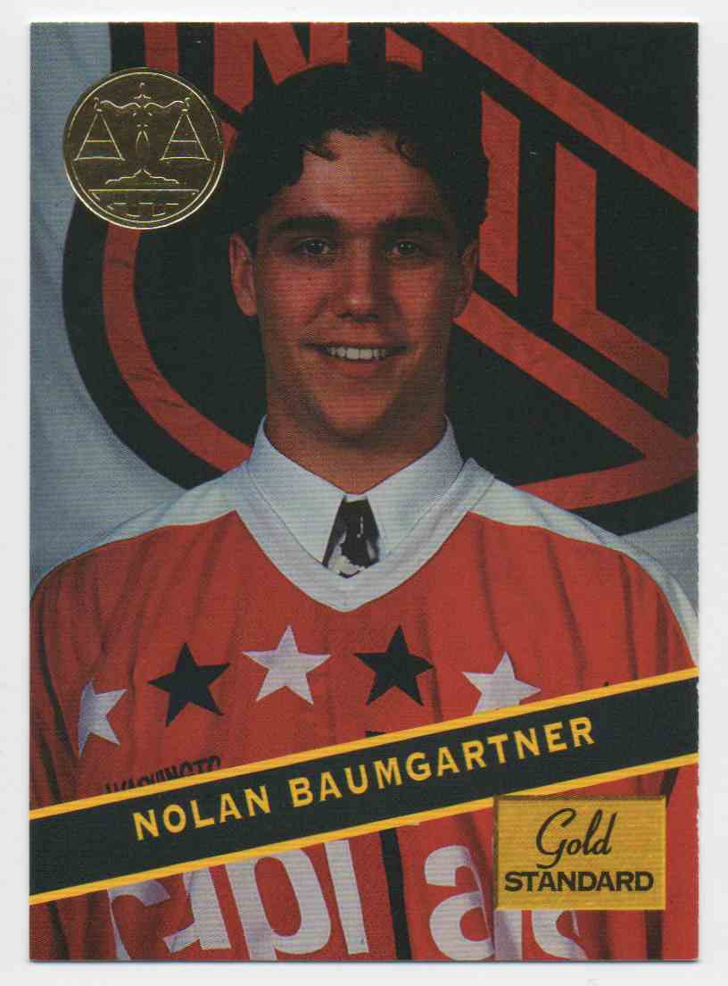 1994-95 Signature Rookies Gold Standard Nolan Baumgartner #76 card front image