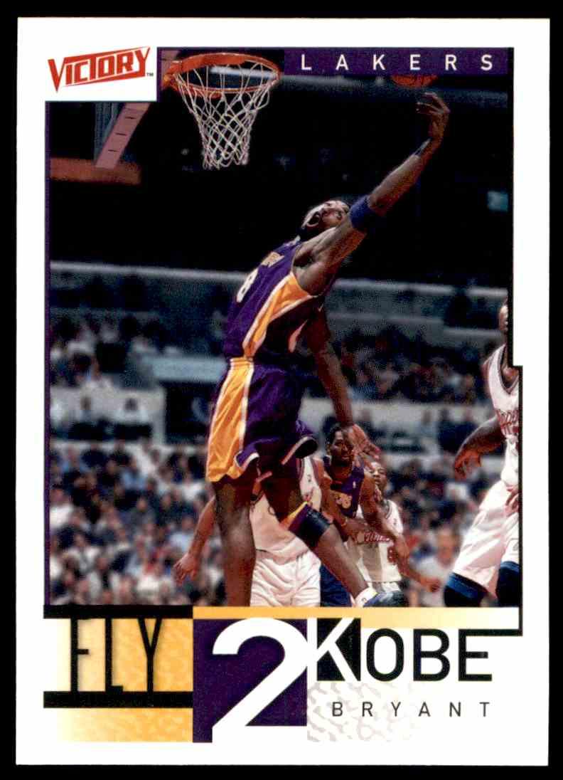 2000-01 Upper Deck Victory Kobe Bryant #300 card back image