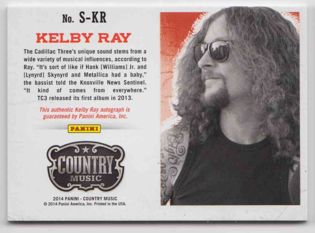 2014 Panini Country Music Silver Kelby Ray #S-KR card back image