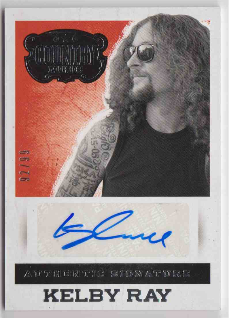 2014 Panini Country Music Silver Kelby Ray #S-KR card front image