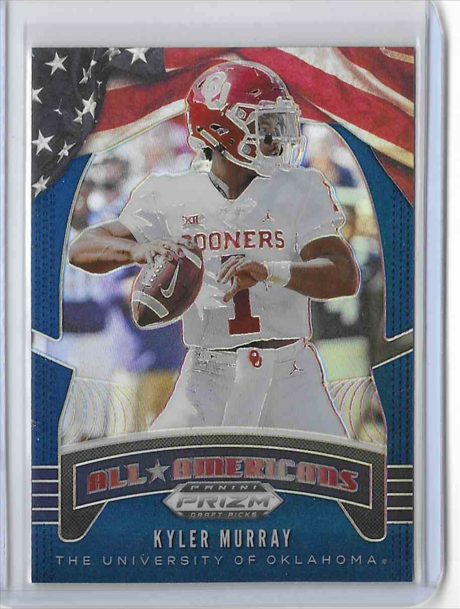 2020 Panini Prizm Draft Picks Blue Kyler Murray #5 card front image