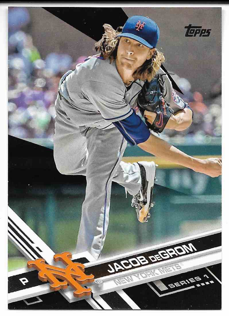 2017 Topps Jacob Degrom #155 card front image