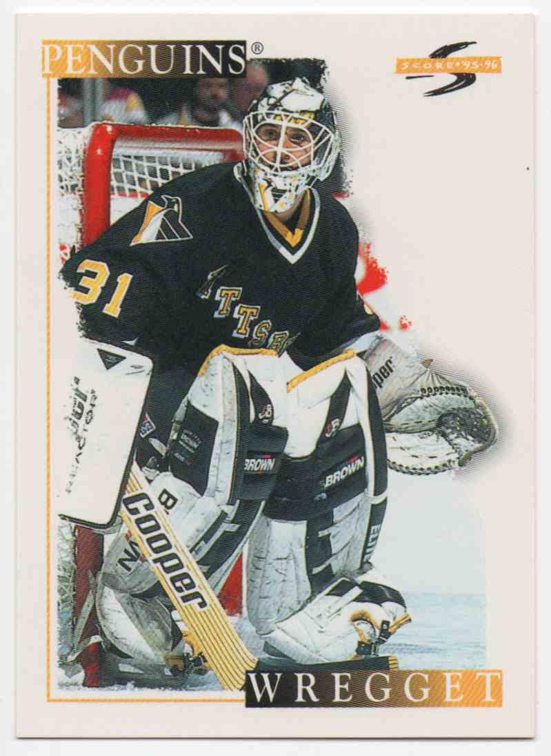 1995-96 Score Ken Wregget #126 card front image