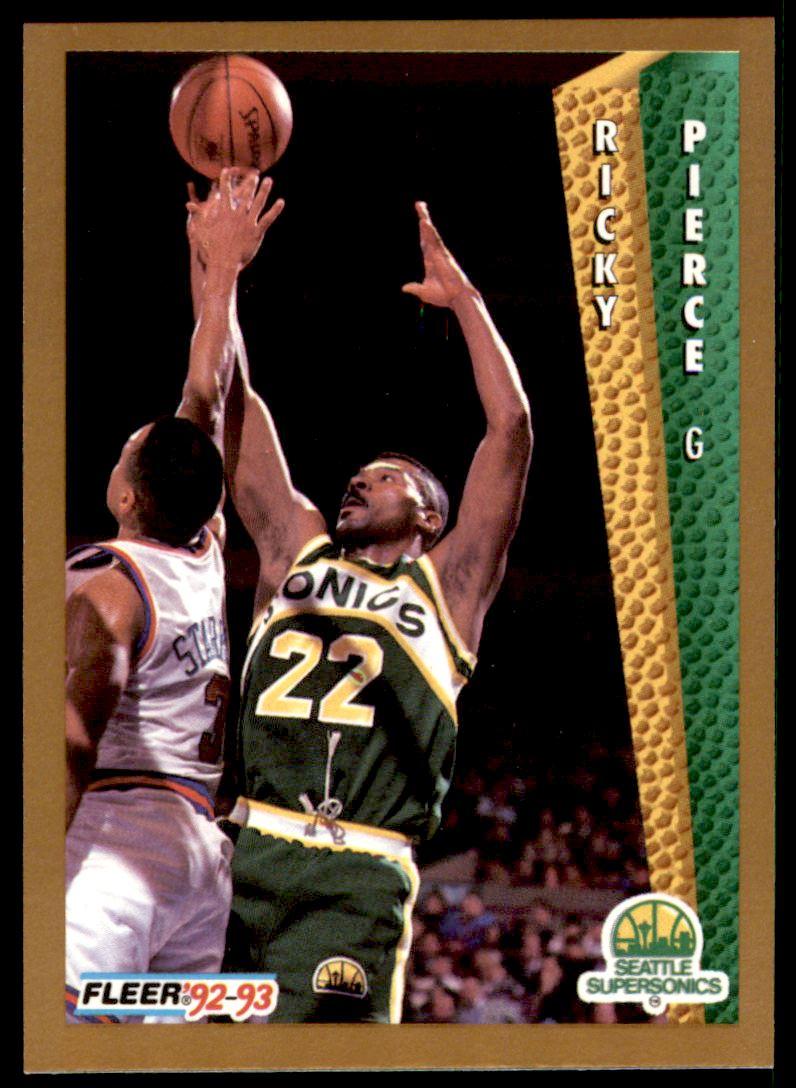 1992 93 Fleer Ricky Pierce 217 on Kronozio