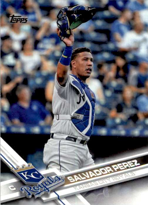 2017 Topps Series 2 Salvador Perez #439 card front image
