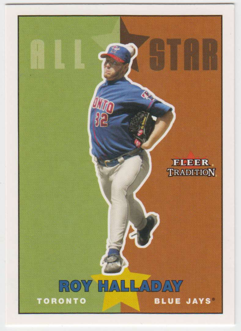 2003 Fleer Tradition Update Roy Halladay #U212 card front image