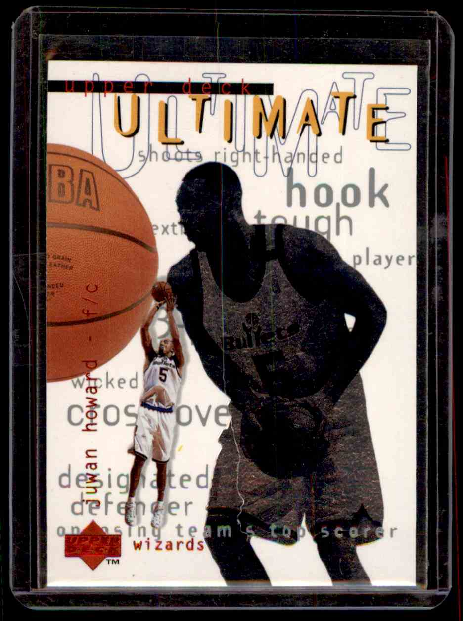 1997-98 Upper Deck Ultimates Juwan Howard #U11 card front image