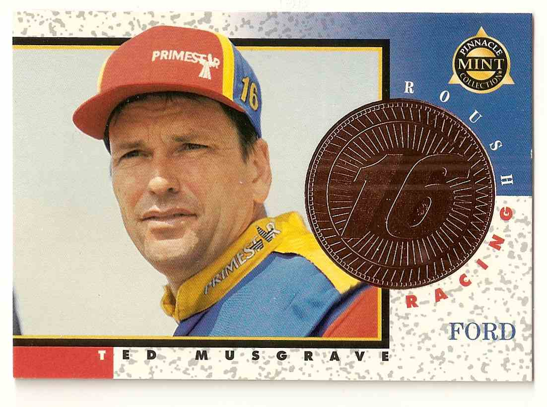 1998 Pinnacle Mint Ted Musgrave #8 card front image