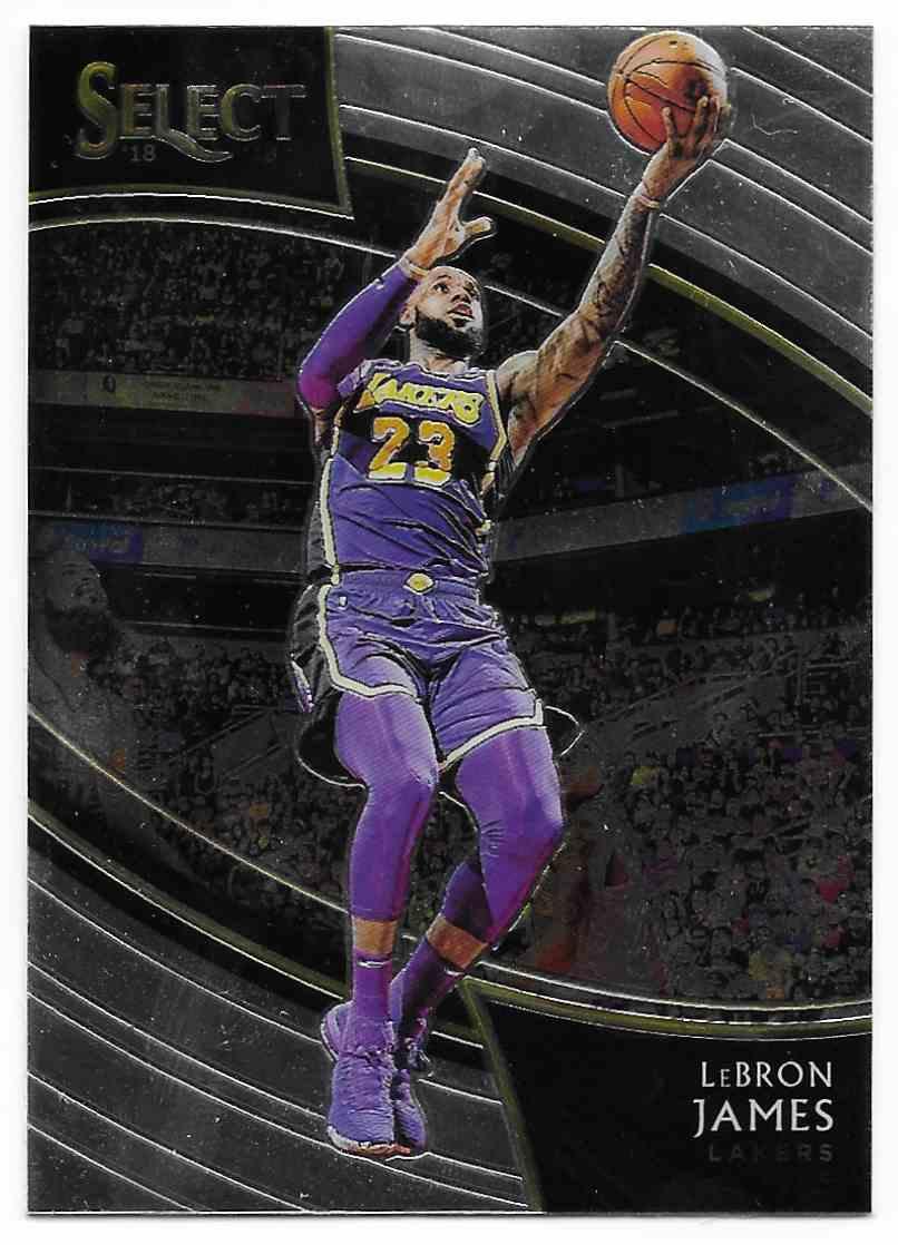 2018-19 Panini Select LeBron James #215 card front image