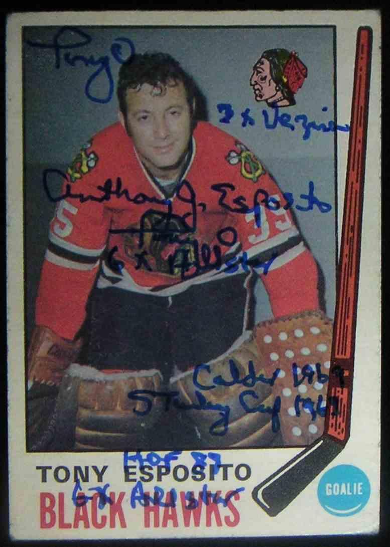 1969-70 O-Pee-Chee Tony Esposito #138 card front image