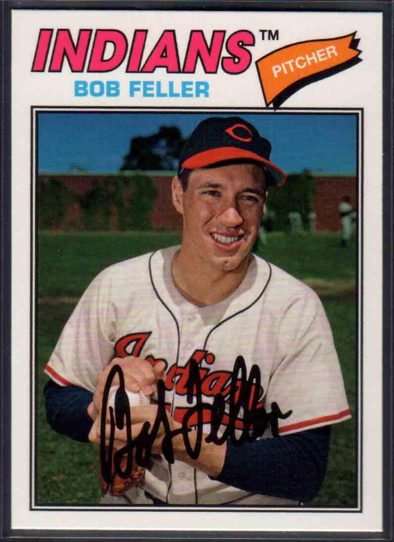 2018 Topps Archives Bob Feller #117 card front image