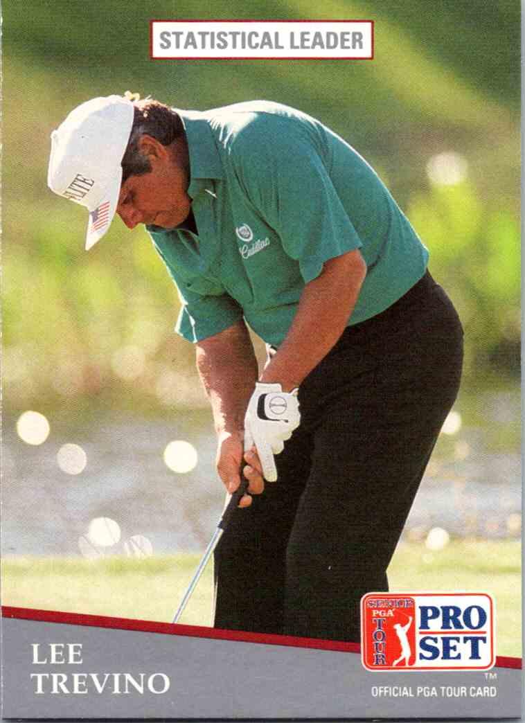 1991 Pro Set Lee Trevino #280 card front image