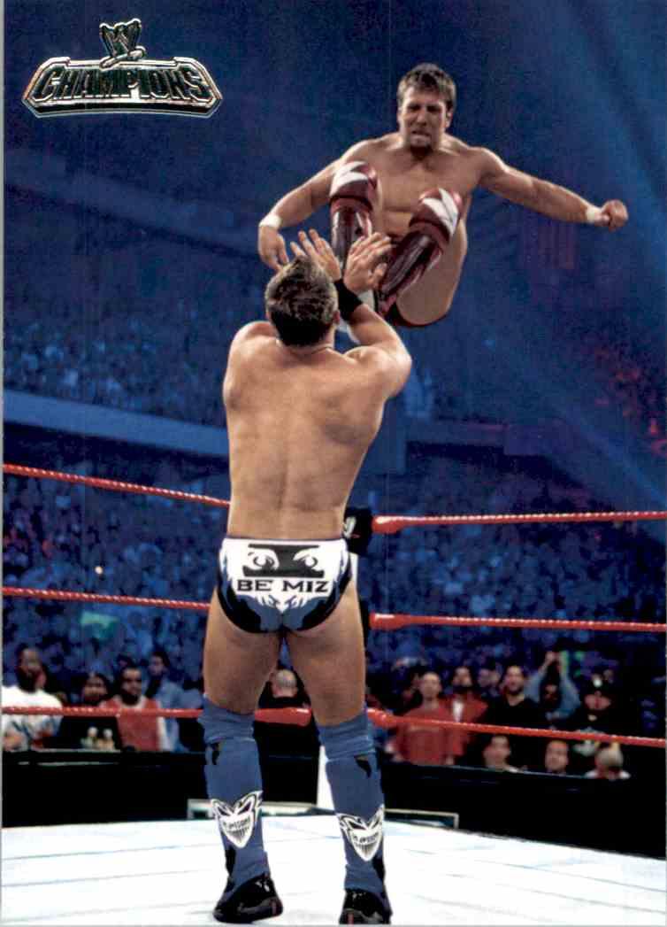 2011 Topps Wwe Champions Daniel Bryan #23 card front image