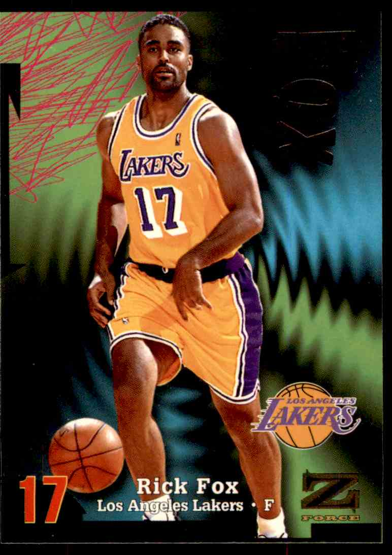 1997-98 Skybox Z Force Rick Fox #155 card front image