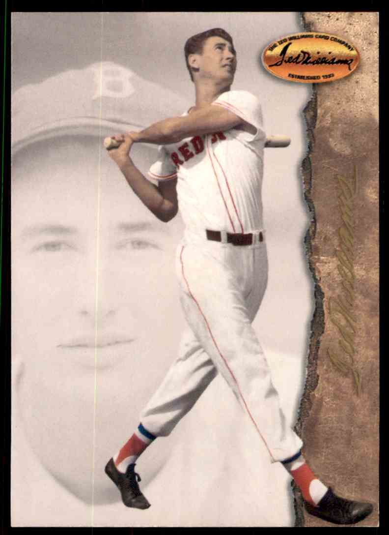 1994 Ted Williams Vada Pinson #1 card front image
