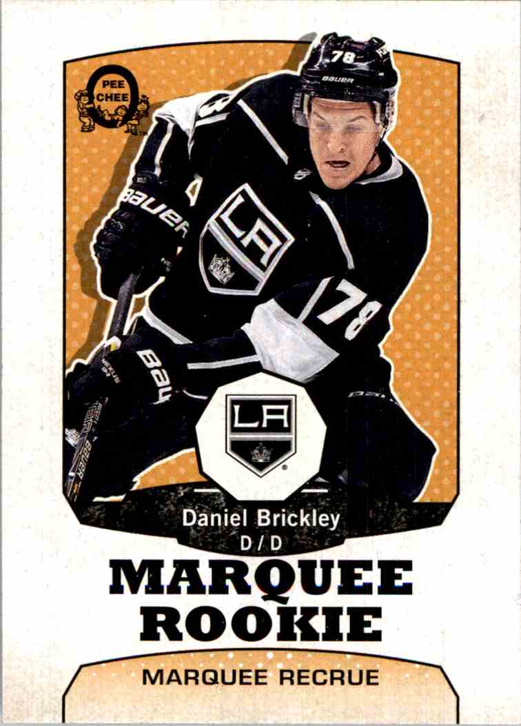 2018-19 O-Pee-Chee Marquee Rookie Retro Daniel Brickley #508 card front image