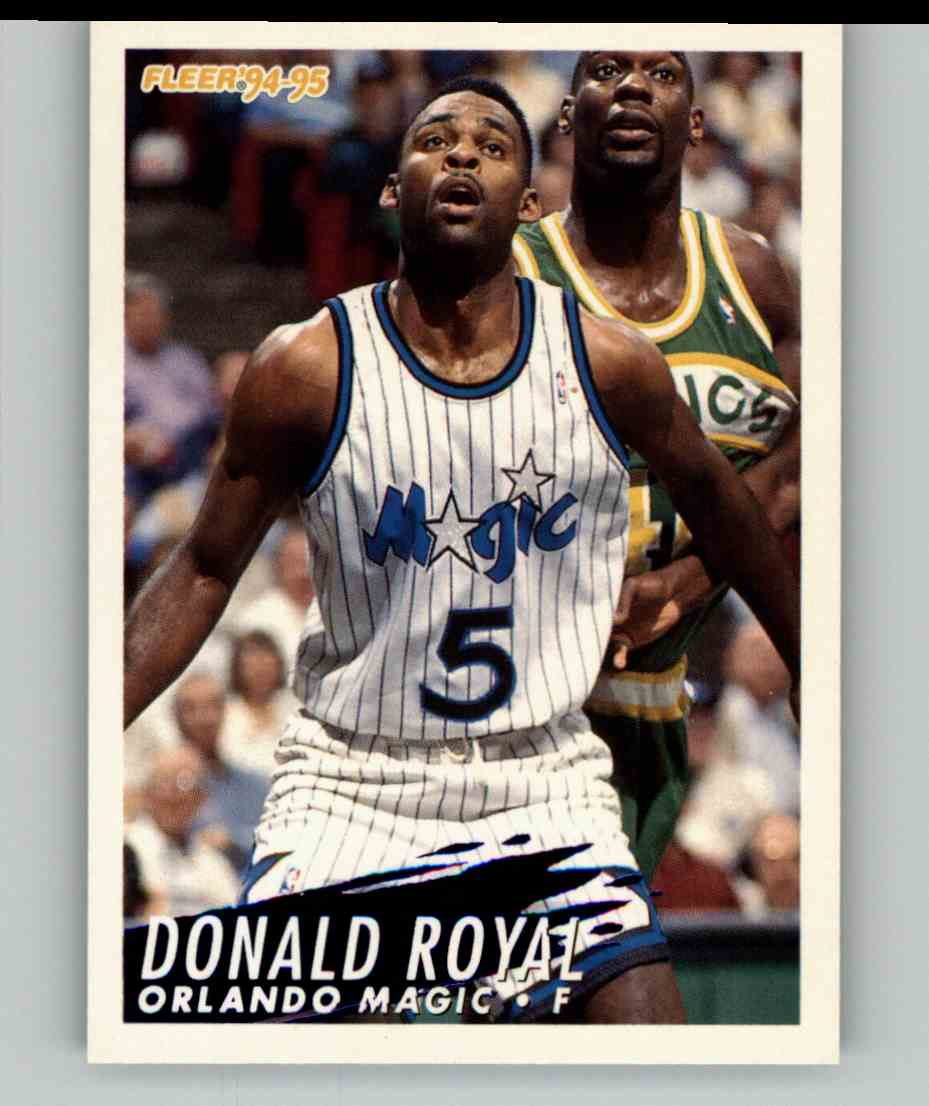 1994-95 Fleer Donald Royal #161 card front image