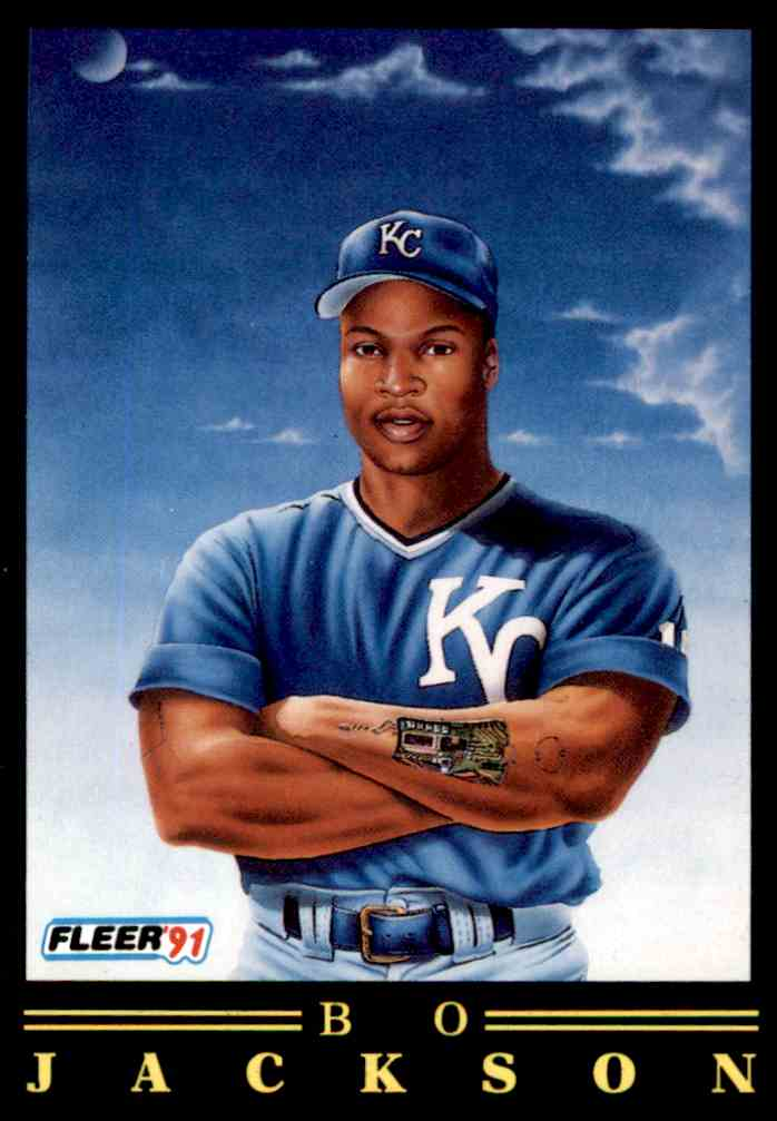 1991 Fleer Bo Jackson 5 Of 12 On Kronozio