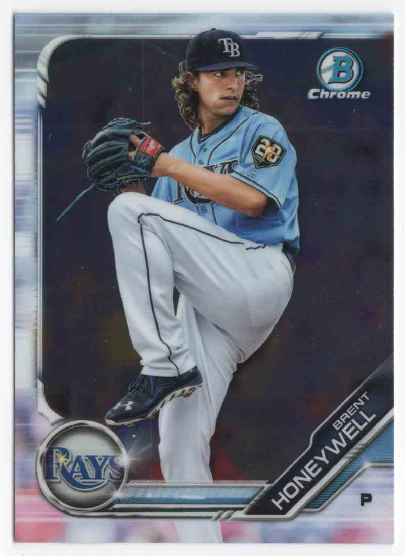 2019 Bowman Chrome Prospects Brent Honeywell #BCP88 card front image