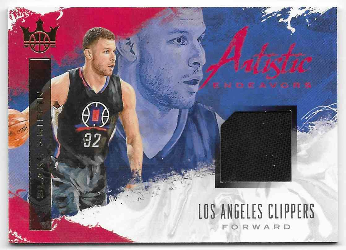 2017-18 Panini Court Kings Artistic Endeavors Blake Griffin #AE-BG card front image