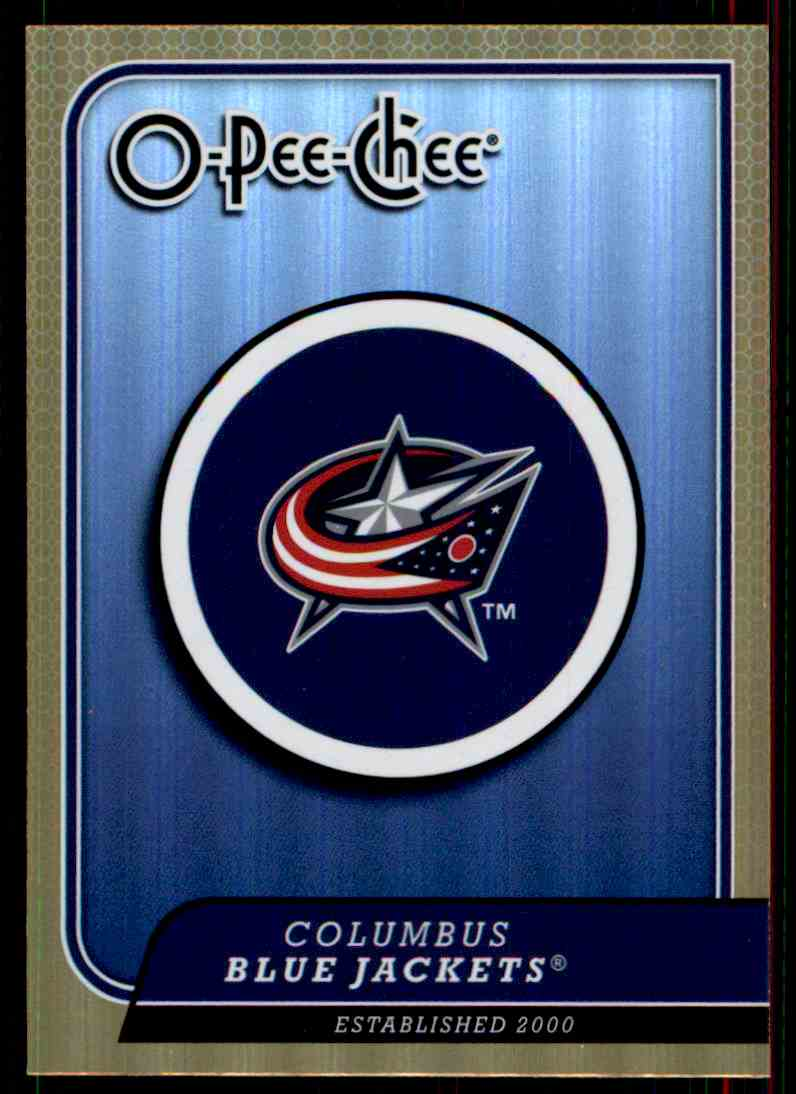 7 Columbus Blue Jackets Logo Trading Cards For Sale