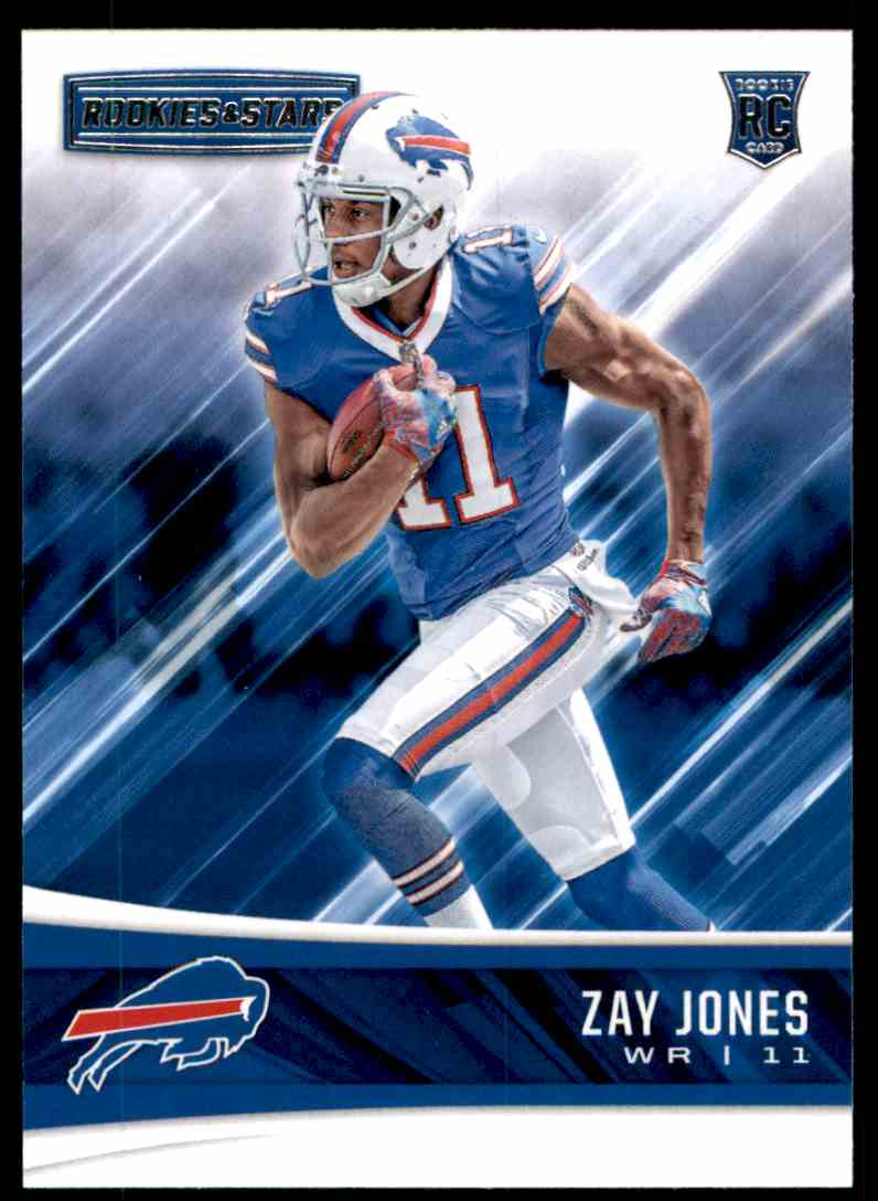 2017 Rookies And Stars Zay Jones #223 card front image