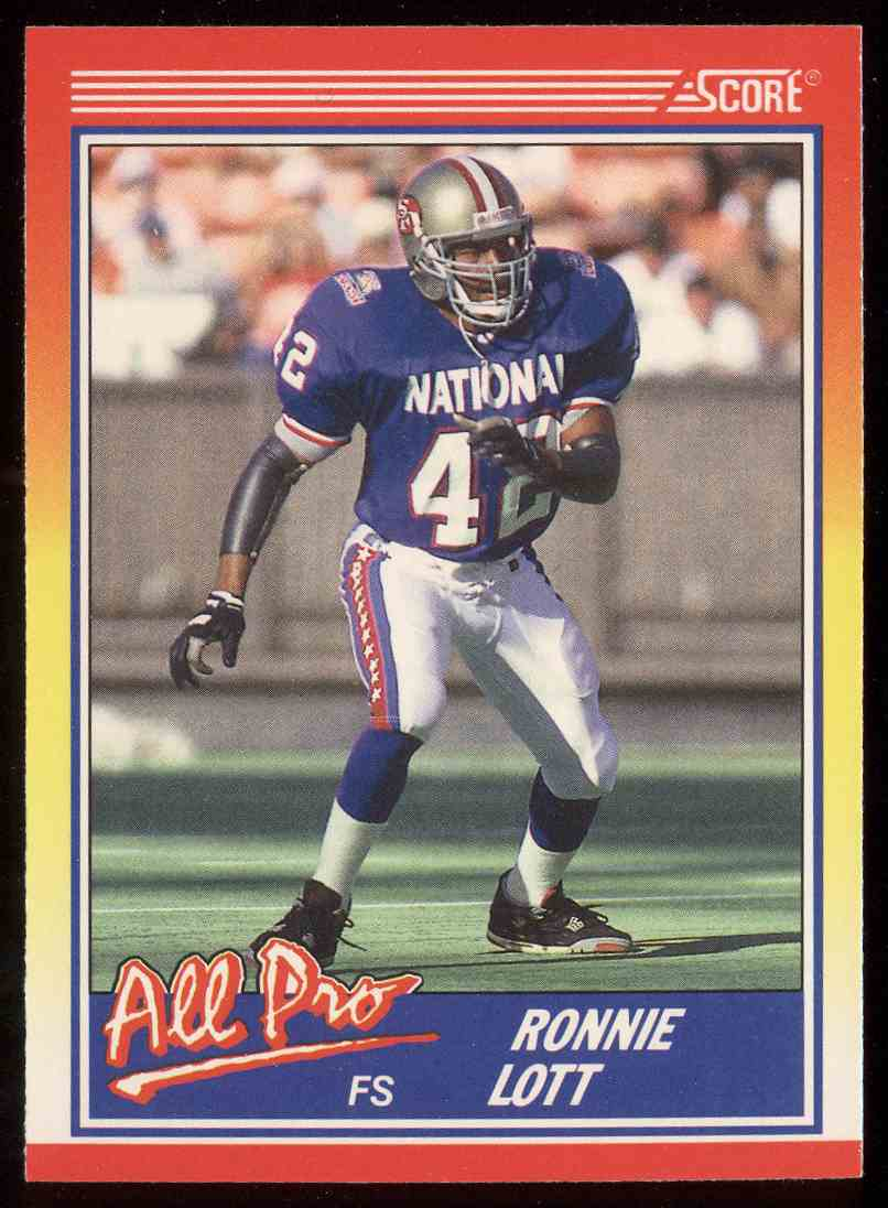 best service b9796 68a79 325 Ronnie Lott trading cards for sale