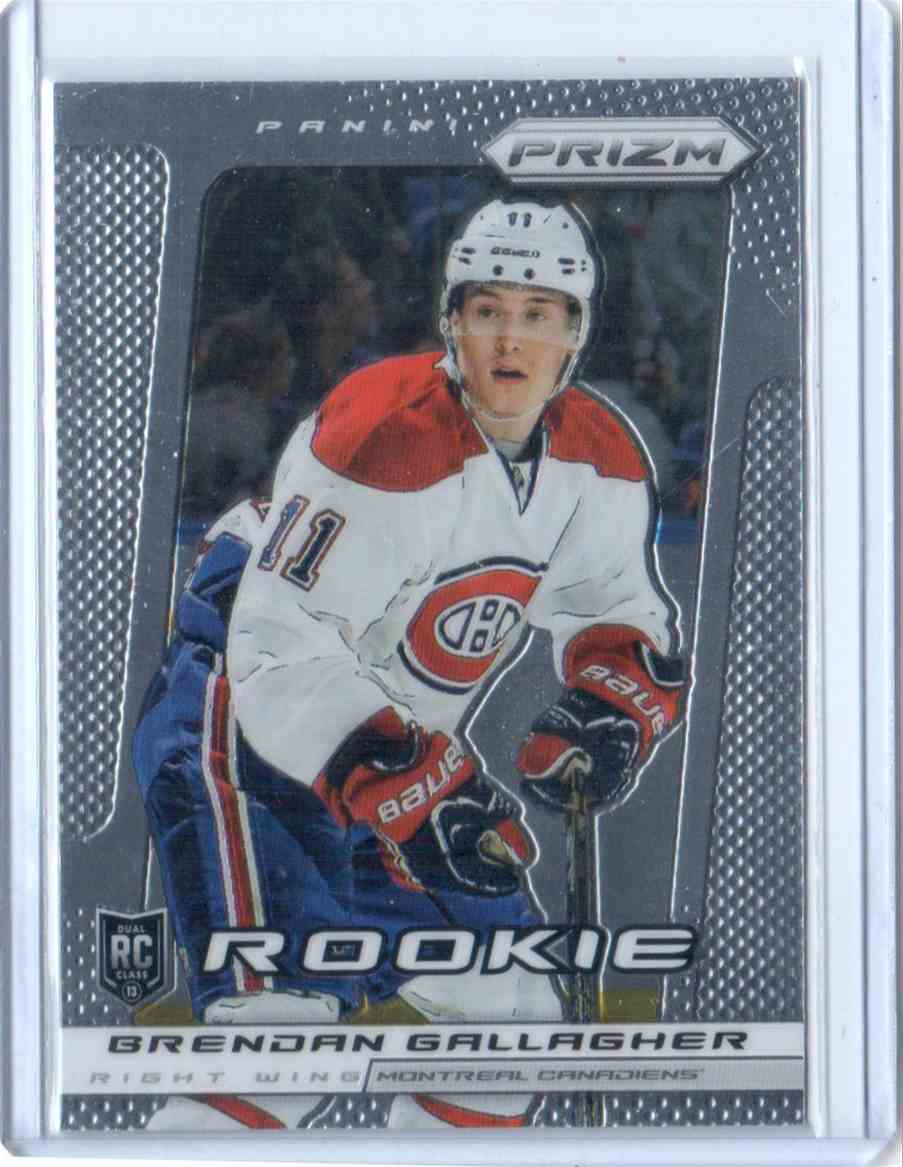 2013-14 Panini Prizm Brendan Gallagher #252 card front image