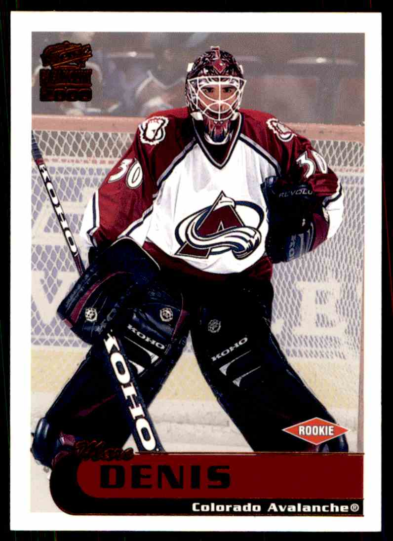 1999-00 Paramount Copper Marc Denis #61 card front image