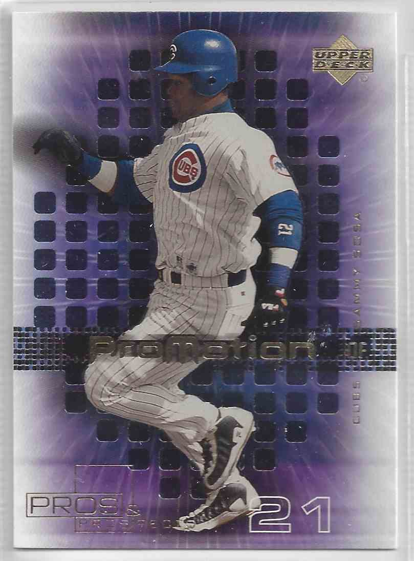 2000 Upper Deck Promotion Sammy Sosa #P2 card front image