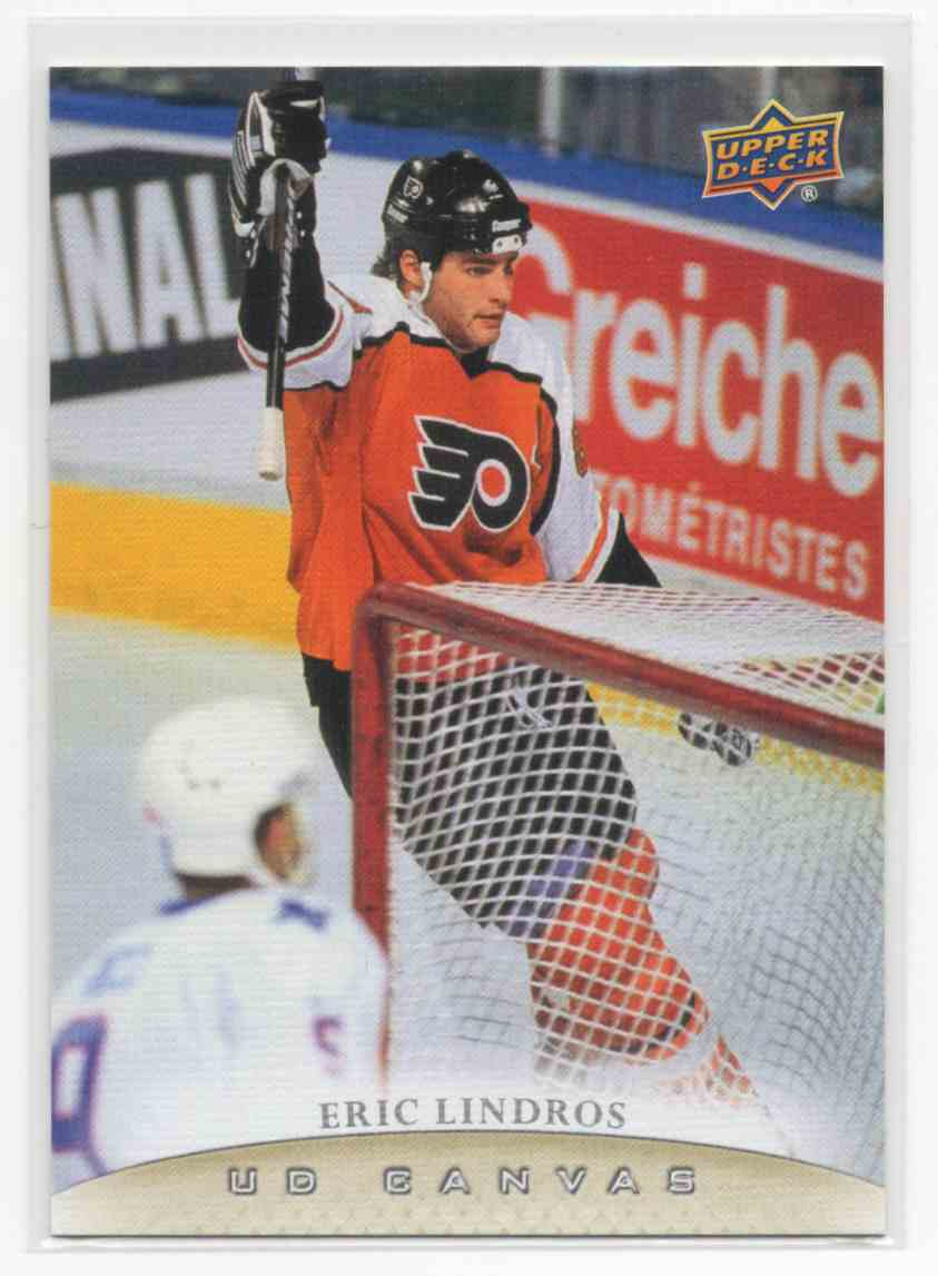 2011-12 Upper Deck Canvas Retired Stars Eric Lindros #C248 card front image