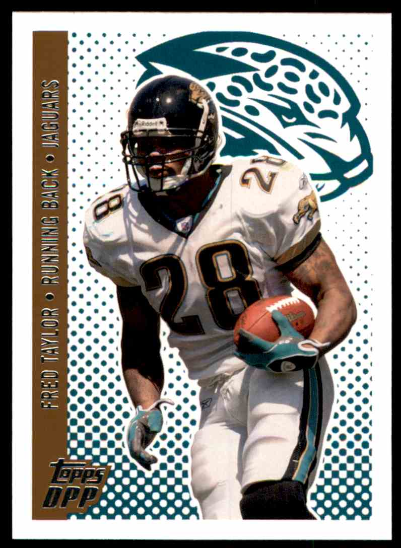 2006 Topps Draft Picks and Prospects Fred Taylor #31 card front image