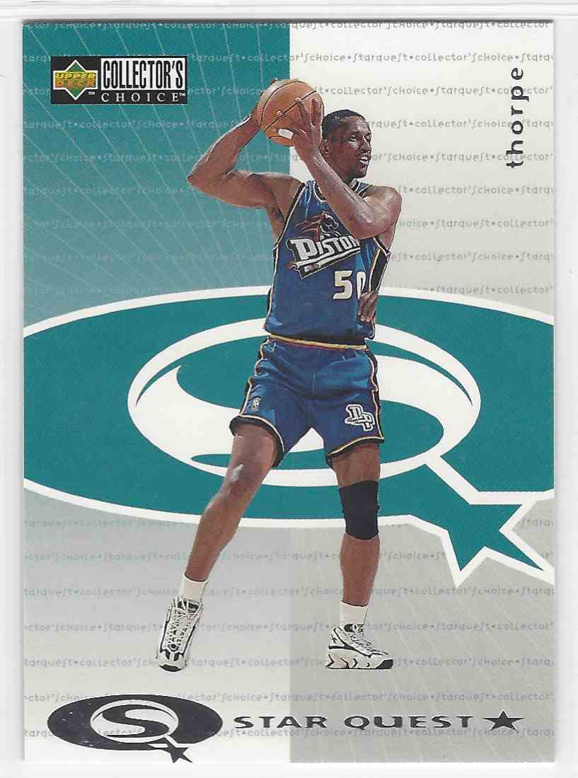 1997 98 Upper Deck Collector s Choice Star Quest Otis Thorpe