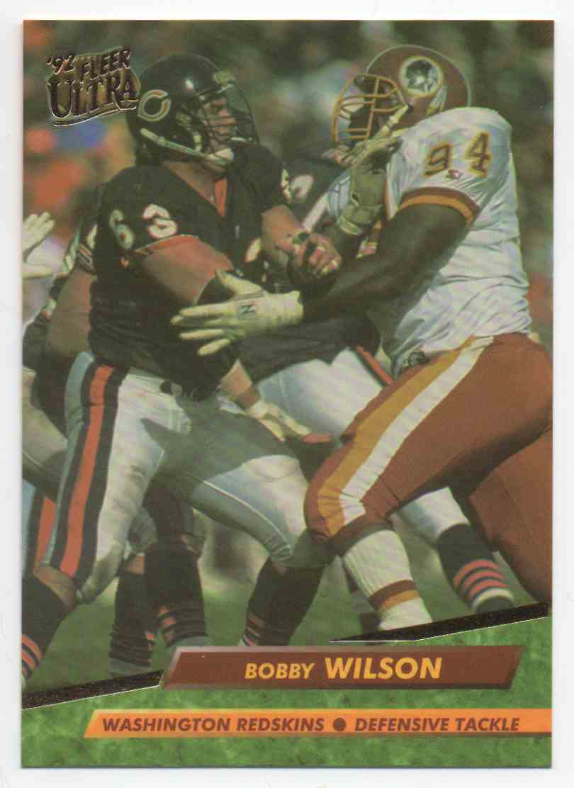 1992 Ultra Bobby Wilson #416 card front image