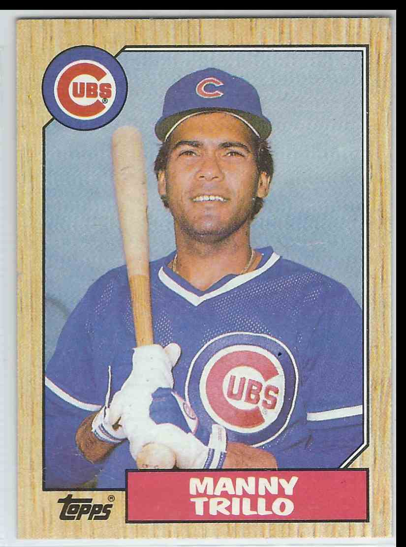 1987 Topps Manny Trillo #732 card front image