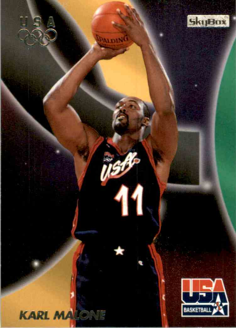 1996-97 SkyBox USA Karl Malone #23 card front image