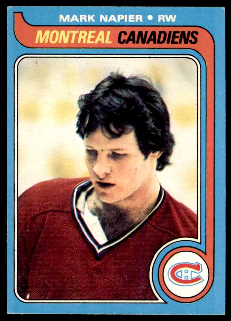 1979-80 O-Pee-Chee Mark Napier #222 card front image