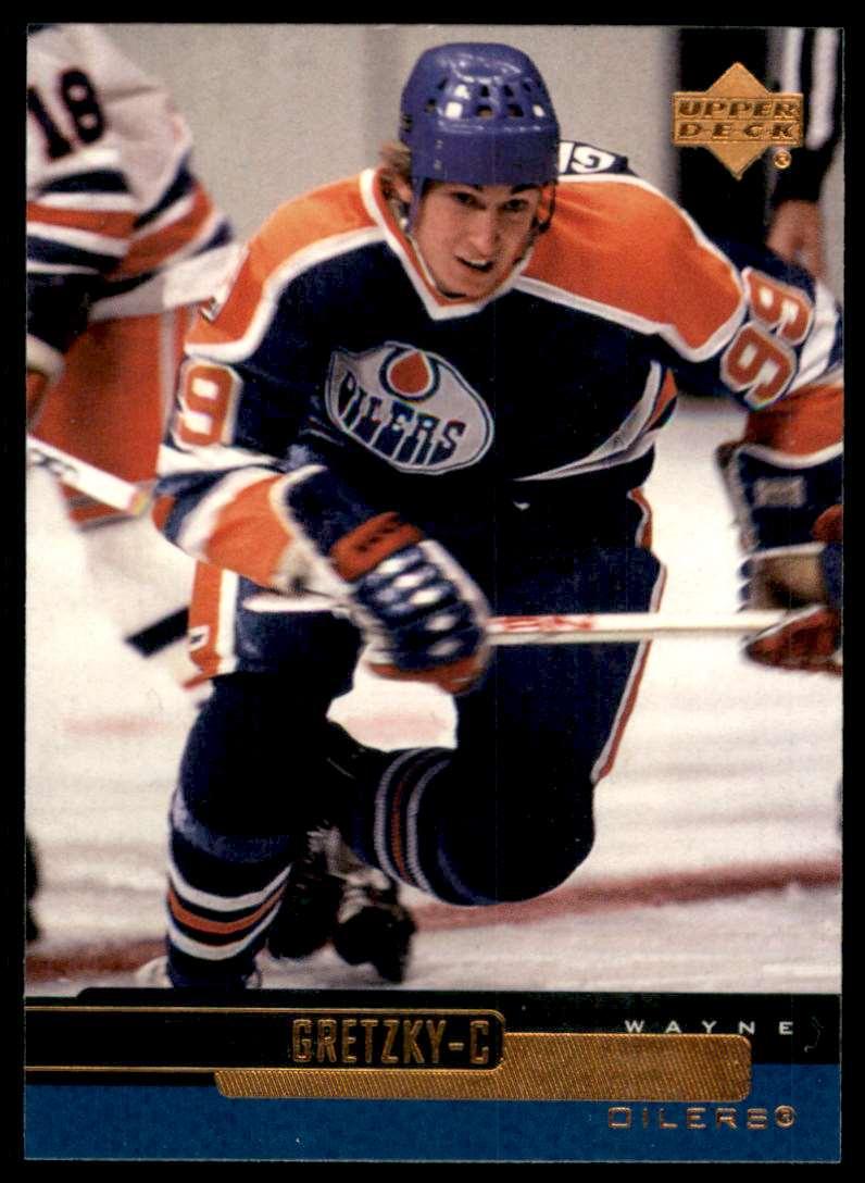 1999-00 Upper Deck Wayne Gretzky #1 card front image
