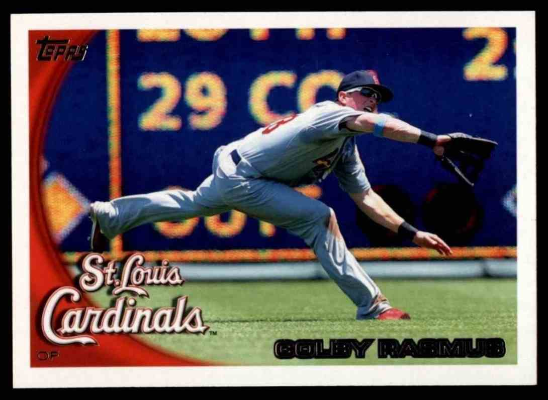 2010 Topps Colby Rasmus #207 card front image