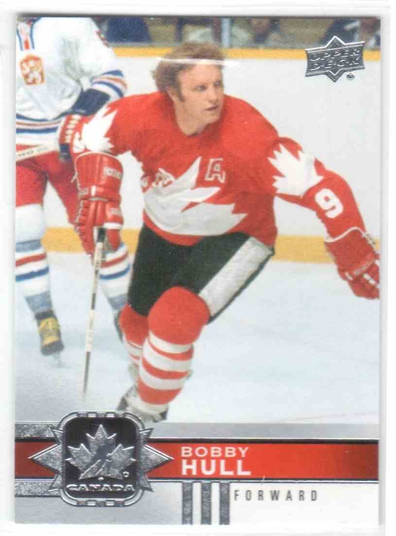2017-18 Upper Deck Team Canada Canadian Tire Bobby Hull #96 card front image